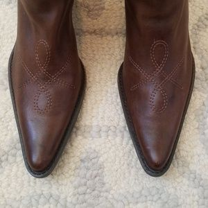 Franco Sarto fashion cowgirl boots
